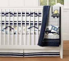 Construction Baby Bedding Sets Construction Baby Bedding Set Pottery Barn