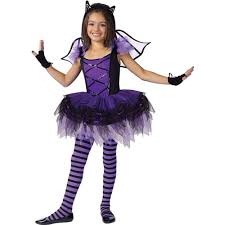 Halloween Costumes Kid Girls Amazon Batarina Child Costume Medium 8 10 Toys U0026 Games