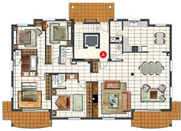four bedroom floor plans plush luxury 4 bedroom apartment floor plans amazing with picture