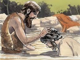 free bible images jesus is baptised by john matthew 3 13 17