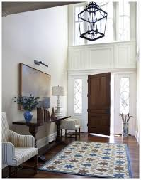 Indoor Lantern Chandelier Brilliant Home Indoor Entry Rugs On Solid Walnut Wood Flooring