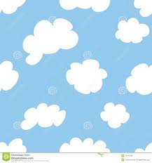 cartoon clouds stock vector image repetition seamless 13440159