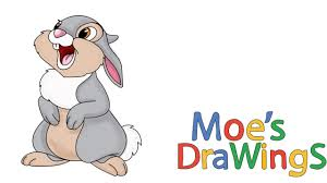 bambi thumper how to draw and coloring fun new hd video for kids
