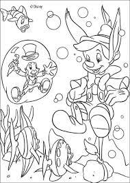 pinocchio jiminy 1 coloring pages hellokids