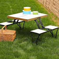 amazing metal picnic table frame 24 for simple home decoration