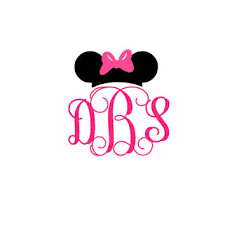 minnie mouse monogram shop disney monogram on wanelo