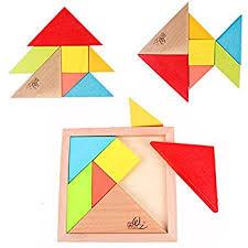 tangram puzzle tangram puzzle wooden brainteaser 7 pieces