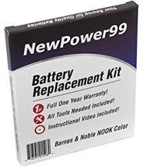 Barnes And Noble Omaha Ne Amazon Com Barnes U0026 Noble Nook Ereader Battery Replacement Kit