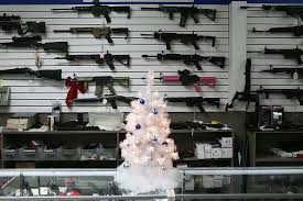 christmas tree sales black friday gun background checks hit record number on black friday
