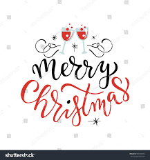 merry happy holidays greeting card stock vector