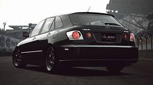 lexus is300 black gt6 lexus is 300 sport cross u002701 exhaust comparison youtube