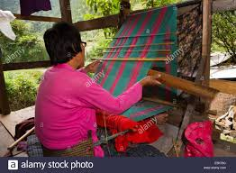 bhutan weaving stock photos u0026 bhutan weaving stock images alamy