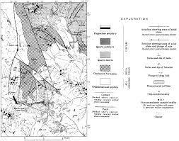 Map Of Custer State Park by Usgs Geological Survey Bulletin 1359 Geology And Mineral