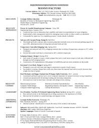 Sample Resume For Freshers Engineers Computer Science by Sample Resume For Freshers It Engineers