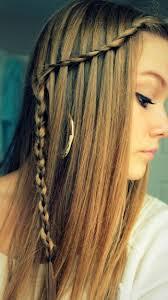 Frisuren Lange Haare Wasserfall by Wasserfall Braid Hair Style Ideen Für Gerade Lange Haare Haare