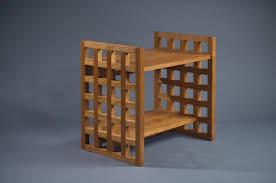Small Computer Printer Table Modern Handmade Furniture New England Custom Tables And Designs