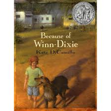 good books to do a book report on chapter books books because of winn dixie