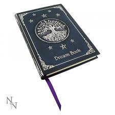 tree of life embossed dream journal