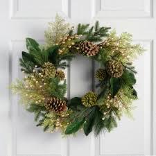christmas wreaths christmas wreaths and garland world market