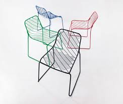 Net Chair People U0027s Industrial Design Office Uses Little Material For Mesh Chair