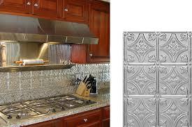 Kitchen Backsplash Materials by Metal Backsplash Material Awesome Kitchen Backsplash Options
