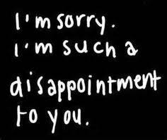 Not Good Enough Meme - i am sorry i disappoint you a lot i know you say i m what you