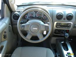 2006 jeep liberty renegade khaki dashboard photo 38064580
