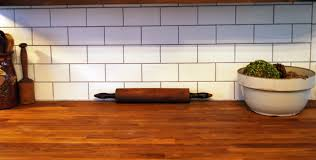 White Subway Tile Kitchen by Glass Subway Tile Kitchen Backsplash Laminated Dark Floor Glossy