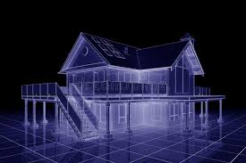 blueprint for house 3d blueprint house royalty free stock photo image 12104515