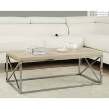 coffee table wood and metal aiden coffee table world market