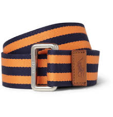preppy ribbon belts preppy orange navy blue ribbon belt by polo ralph preppy