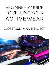 closet clean out how to list your activewear on ebay poshmark