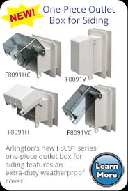 Outdoor Light Fixture With Outlet by Arlington Inbox Weatherproof In Use Recessed Boxes