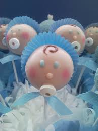 baby cake pops would be great for a baby shower pink hat and