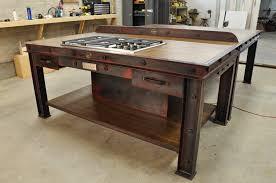 industrial kitchen table furniture kitchen winning firehouse kitchen island model fh4 vintage