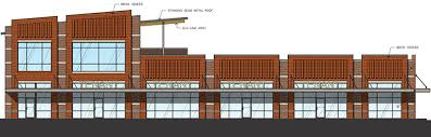 Strip Mall Floor Plans West Gray Plaza Strip Center About To Go Up Next To Barnaby U0027s Café