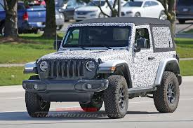 blue jeep 2 door jeep wrangler 2 door soft top spy shots photo gallery autoblog