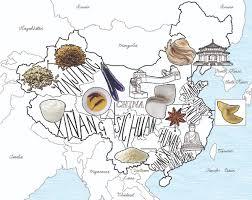 Map Of China Provinces Chinese Food Fanatics Map Jitesh Patel Illustration Jitesh Patel