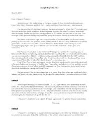 Response Business Letter Sample by Business Report Cover Letter Choice Image Examples Writing Letter
