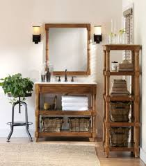 lovely wall sconces for country bathroom decor using rustic