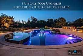 High End Home Decor Catalogs 3 upscale pool upgrades for elite luxury real estate properties