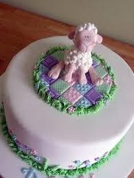 baby shower cake little little lamb theme grandbaby fun