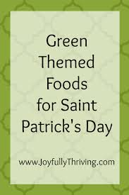 green themed food ideas for st patrick u0027s day