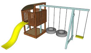 outdoor playset plans howtospecialist how to build step by