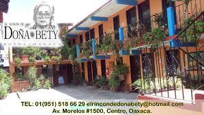 hotel el rincón de doña bety oaxaca city mexico booking com