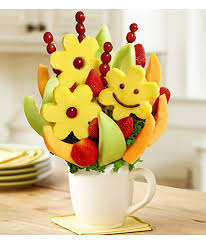 fruit bouque best smile bouquet by fruit bouquets cupcakedropoff