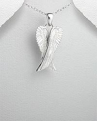 silver necklace wings images Cheap angel wing necklace sterling silver find angel wing jpg