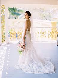 backless wedding dresses 17 real brides in swoon worthy backless