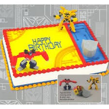 transformers bumblebee and optimus party cake topper transformers optimus prime and bumblebee birthday cake decoration