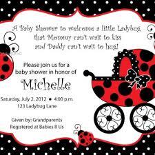 ladybug baby shower ladybug baby shower invitations pink and brown ladybug ba shower